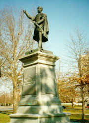 Kossuth Statue in Cleveland, OH. Sculptor: András Tóth, 1901