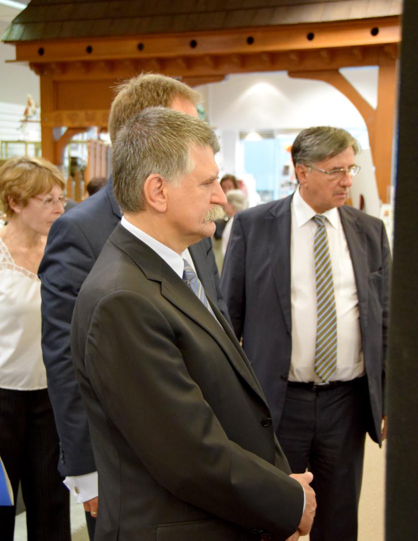 Visit of Hungarian Dignitaries on 9/6/15
