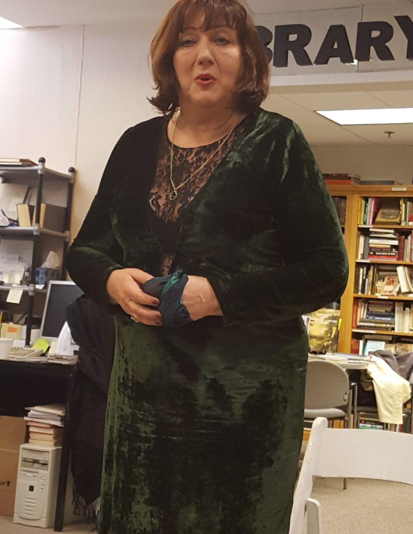 Judit Havas performs at the Museum