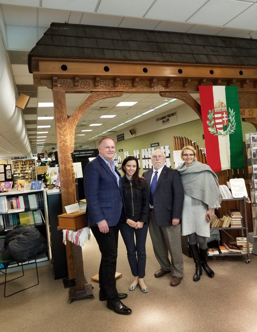 Hungarian Ambassador to the United States visits Museum